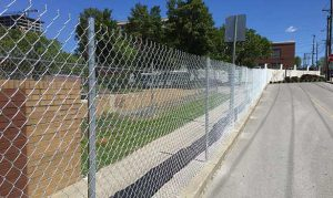 Post Driven Fence Image
