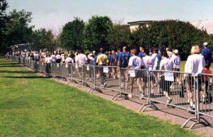 Crowd Control Fencing Image